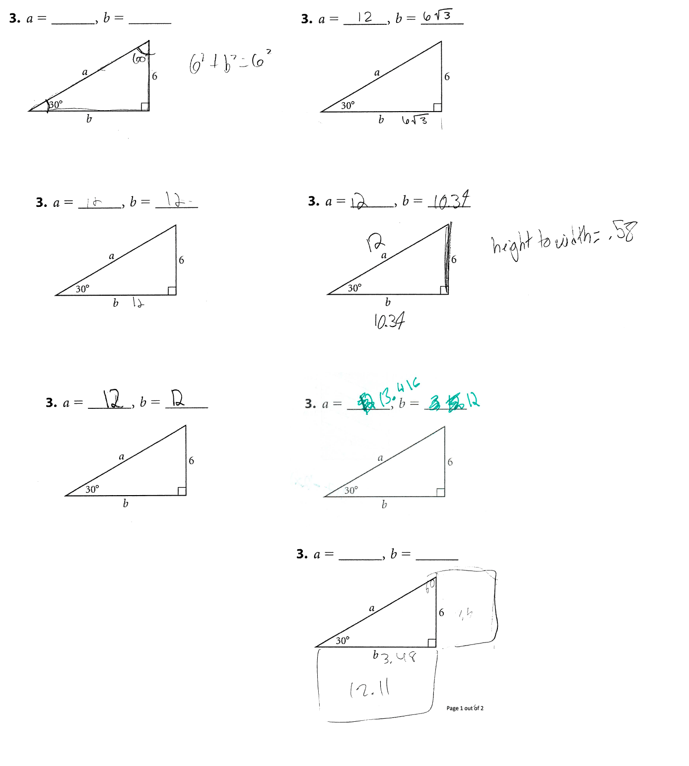 Pythagorean Theorem Math Mistakes