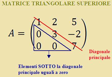matrice triangolare