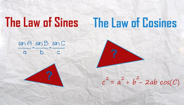 The law of Sines and Cosines