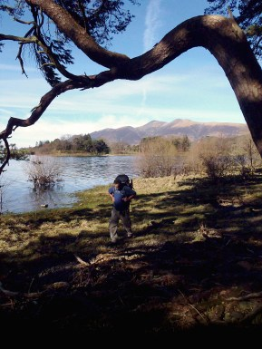 Hiking by Derwent Water