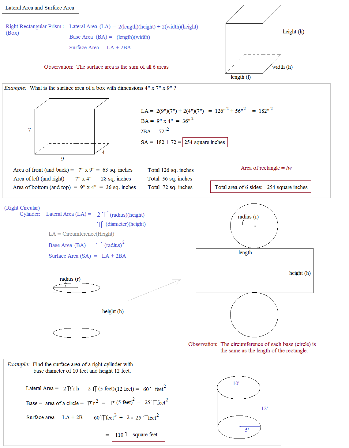 Worksheet Surface Area Of A Cylinder Worksheet Grass Fedjp Worksheet Study Site