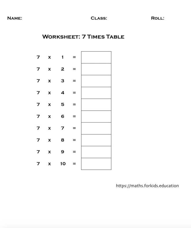 worksheet table 7-min