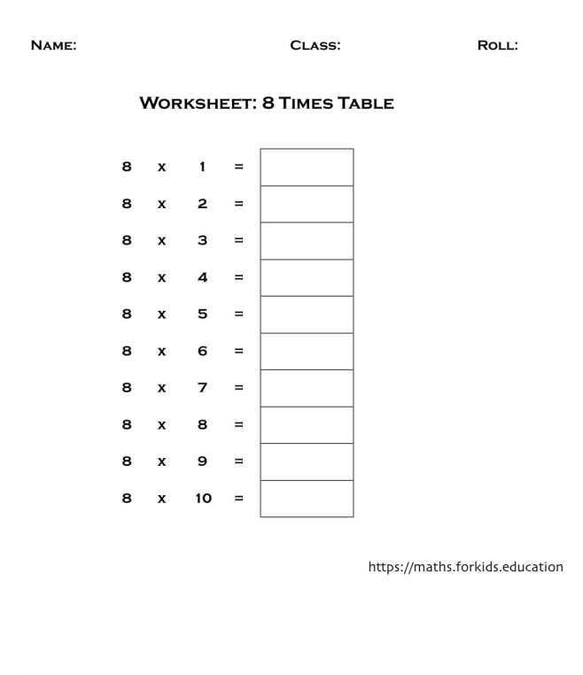 worksheet table 8-min
