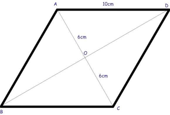 Rhombus example 2