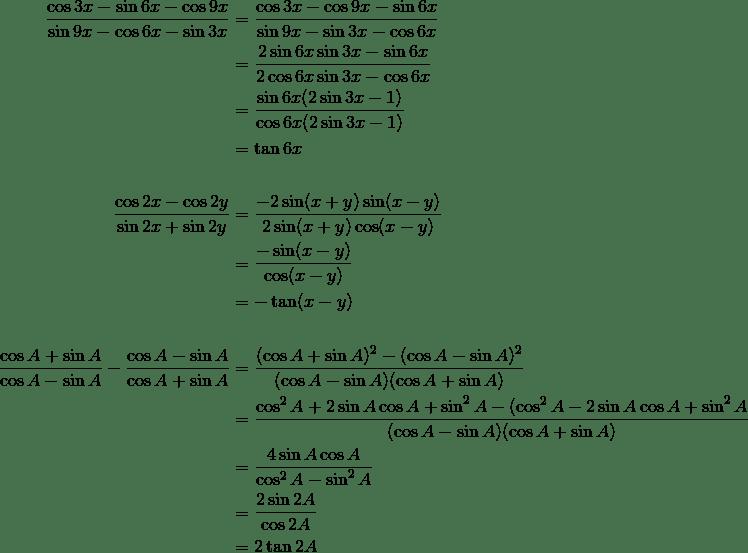 Operator matematika yang akan sering dipakai di dalam rumus diantaranya seperti: Rumus Jumlah Dan Selisih Fungsi Trigonometri Sinus Dan Cosinus