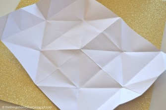 Unfolded Origami