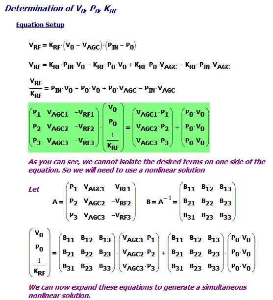 Figure 3: Three Equation Setup.