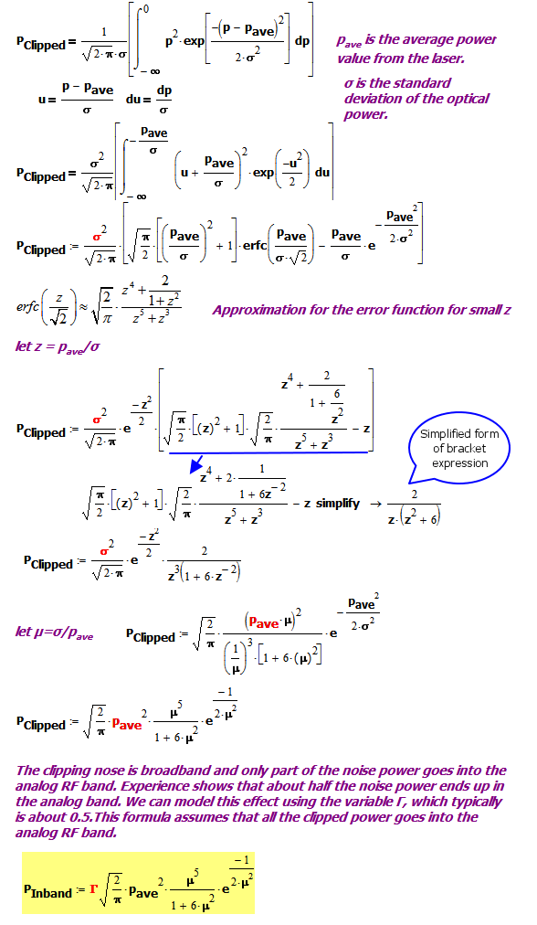 Figure 5: Clipped Power Signal Derivation.