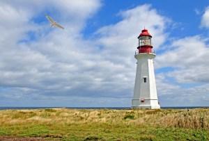 Figure 1: Flat Point Lighthouse in Nova Scotia.