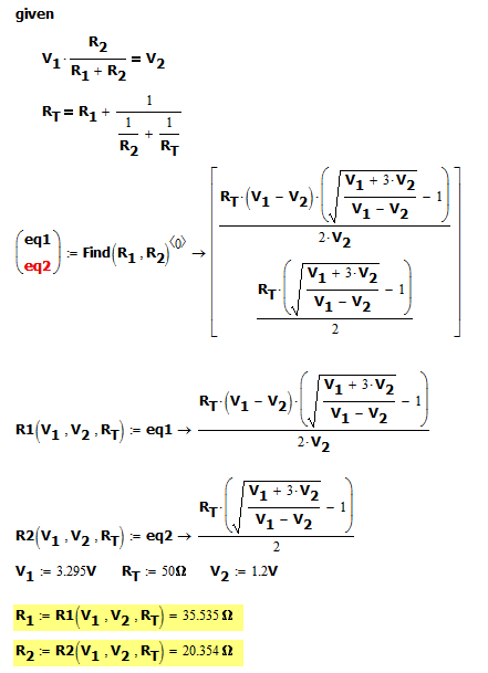 Figure 2: Simpler Approach Using Circuit Insights.