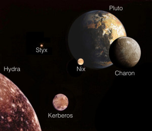 Figure 1: Pluto System Artist's Conception.