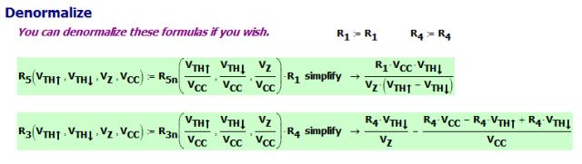 Figure 4: Denormalize the Solution.