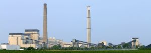 Figure 1: Sherco Coal-Fired Power Plant in Minnesota.