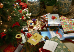 Figure 1: Examples of Christmas Gift Wrapping.