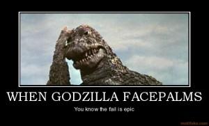 Figure 1: I am sure even Godzilla has tough days.