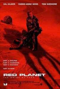 Figure 3: Red Planet Movie Poster.