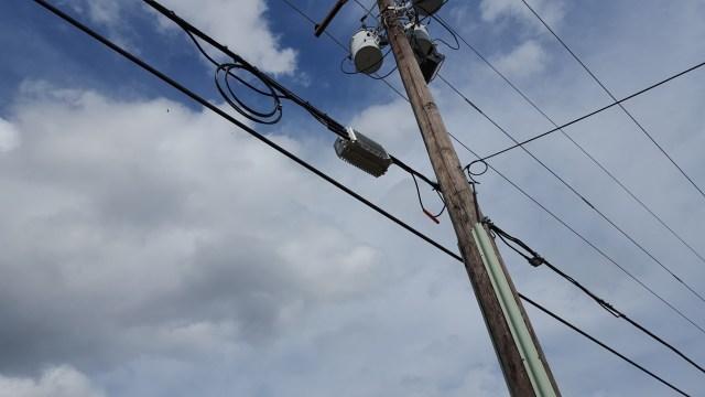 Figure 2: Utility Pole Deployment.Figure 2: Utility Pole Deployment.