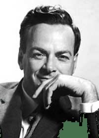 Figure 1: Richard P. Feynman, 1965 Nobel Prize Winner in Physics (Source).