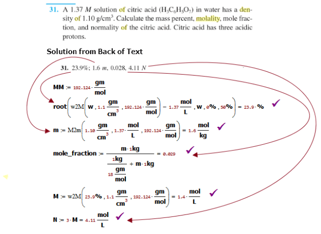 Figure M: Text Book Example 1.