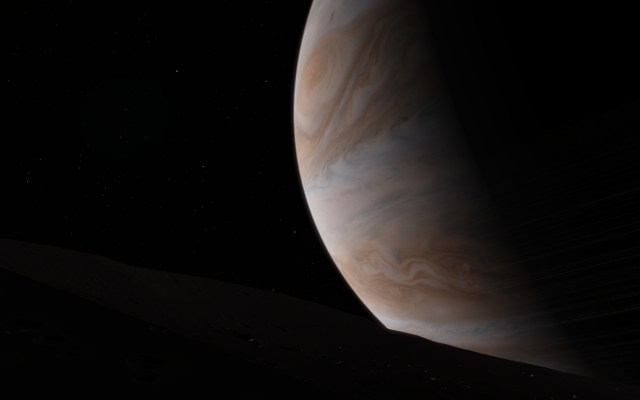 Figure 5: View of Jupiter from Mitas Using .
