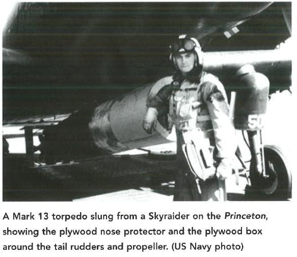 Figure M: Wooden Drop Hardware on US Torpedo.