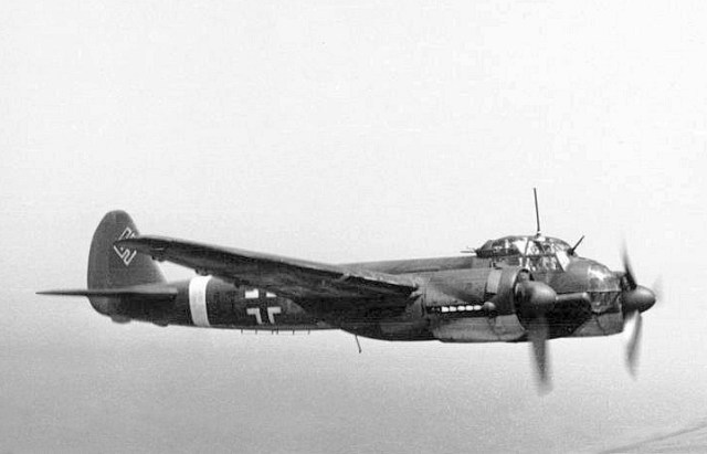 Figure 2: Ju 88 a German WW2 multi-role combat aircraft.