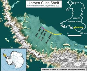 Figure 1: Larsen C Ice Shelf.