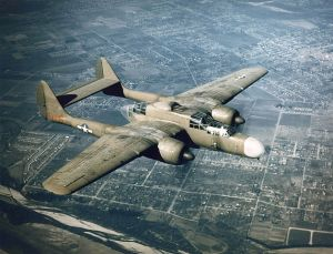 Figure 1: P-61 Black Widow, the most expensive Army Air Force Fighter in WW2.
