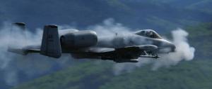 Figure 1: A-10 Firing its GAU-8. (Source)