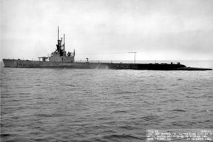 Figure 1: USS Gato, the lead boat of the most common type of US submarine during WW2.