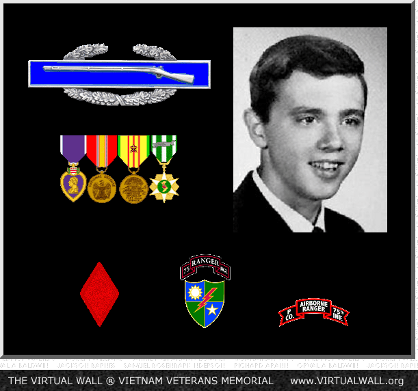 Figure 1: Ronald Biegert, Killed In Action During the Vietnam War.