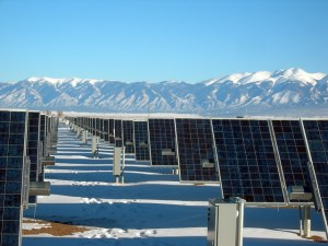 Figure 1: Example of a Large Solar Array.
