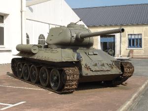 Figure 1: Soviet T34/85 Medium Tank.