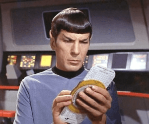 Figure 1: Spock with Whiz Wheel.