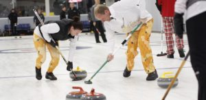 Figure 1: People Curling in Northern Minnesota. (Source)