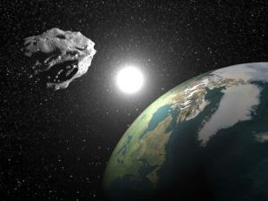 Figure 1: Deceptive Image of an Asteroid Passing Extremely Close to the Earth. (USA Today)
