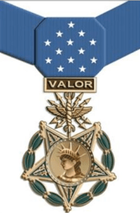Figure 1: US Air Force Medal of Honor.