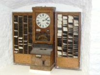 Figure 1: Old School Work Time Clock.