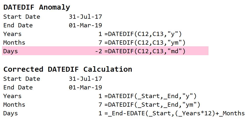 Power Query DATEDIF Function | Math Encounters Blog