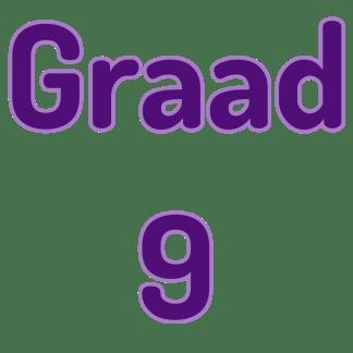 Graad 9 Wiskunde
