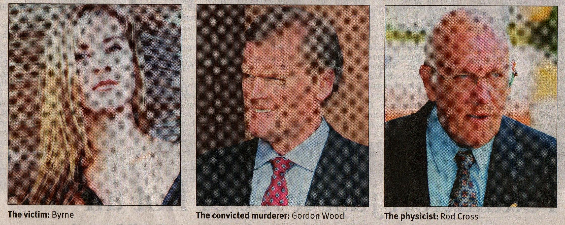 murder victim Correction