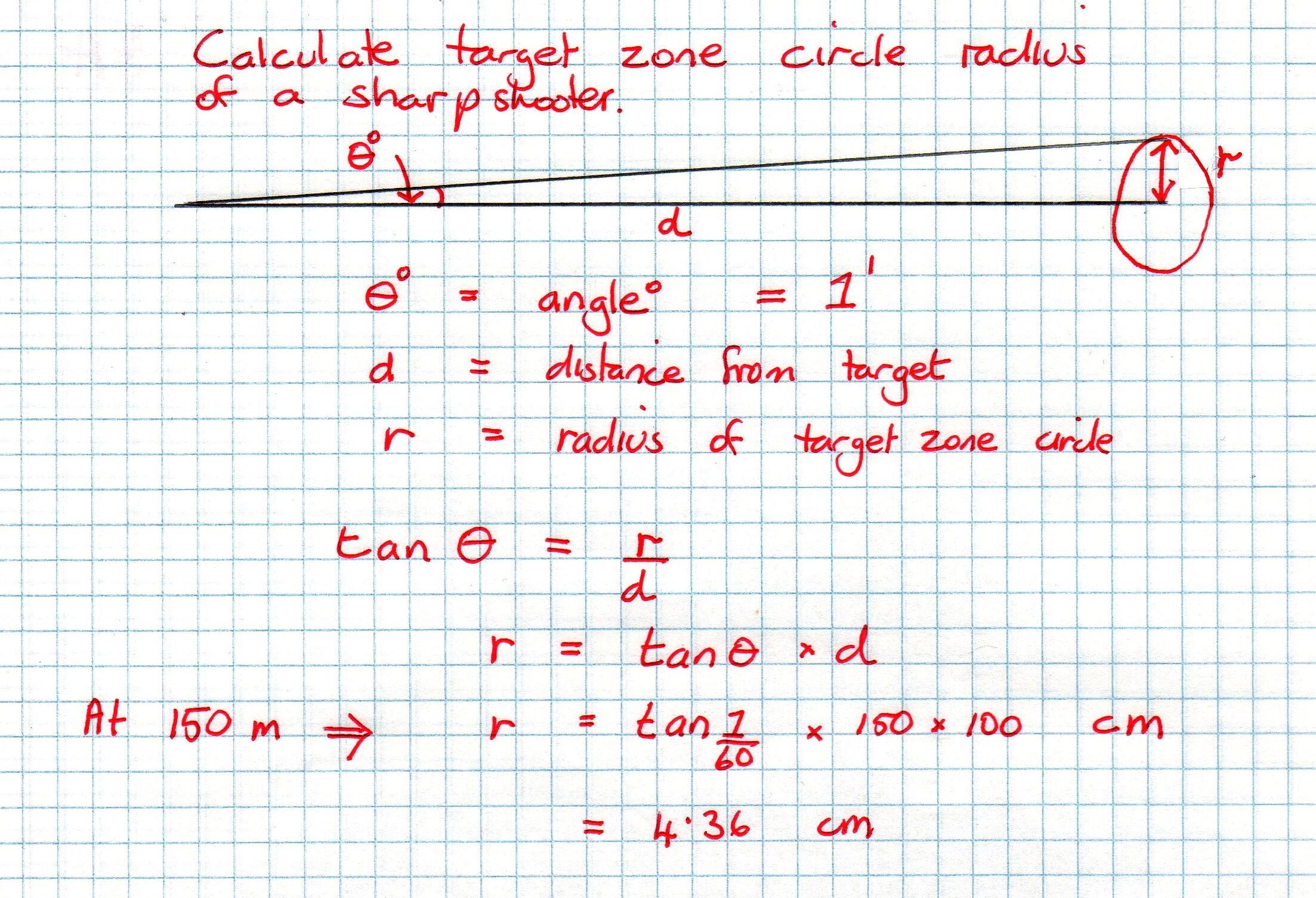 Target Zone Math