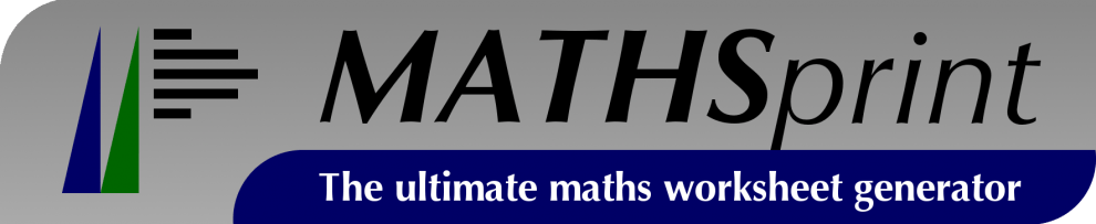 Free Maths Worksheets   Made with MATHSprint Free Maths Worksheets
