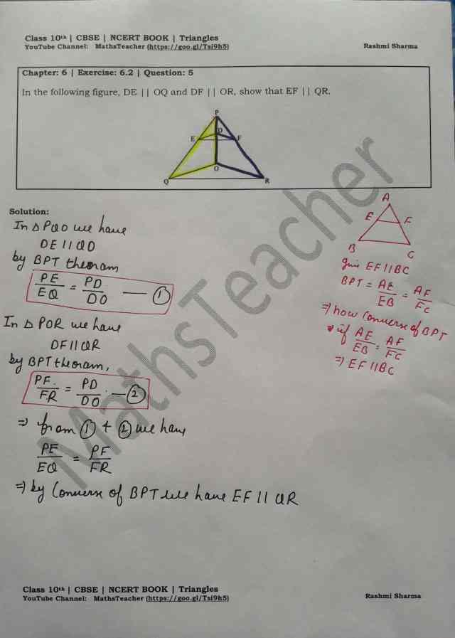 class 10 chapter-6 ex 6.2 Q-5