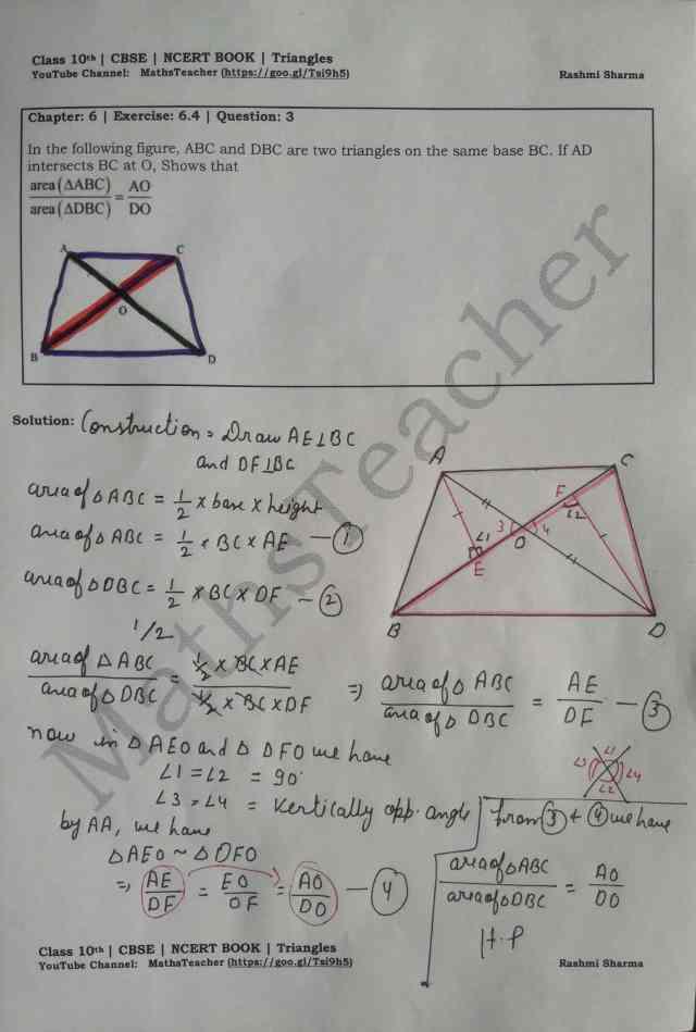 class 10 chapter-6 ex 6.4 Q-3
