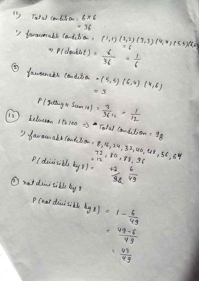 Class 10 Maths Exam Paper Section-AB (Q11,Q12)