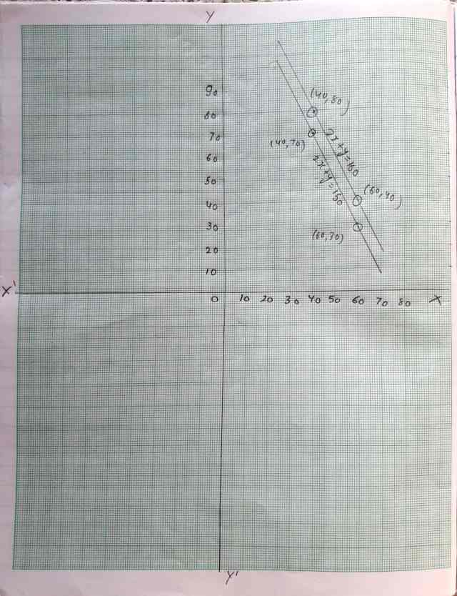 Class 10 Maths Chapter 3 Pair of Linear Equations in 2 variables Ex 3.1 Question 3 cont...