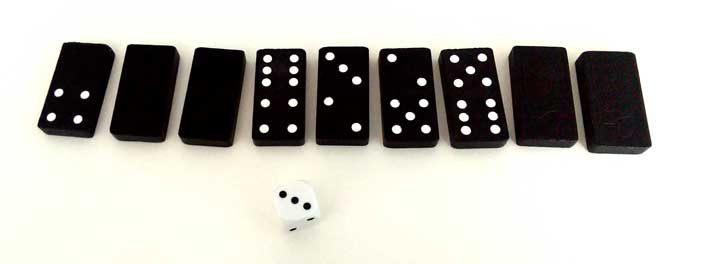 how to play dominoes 5 and 3