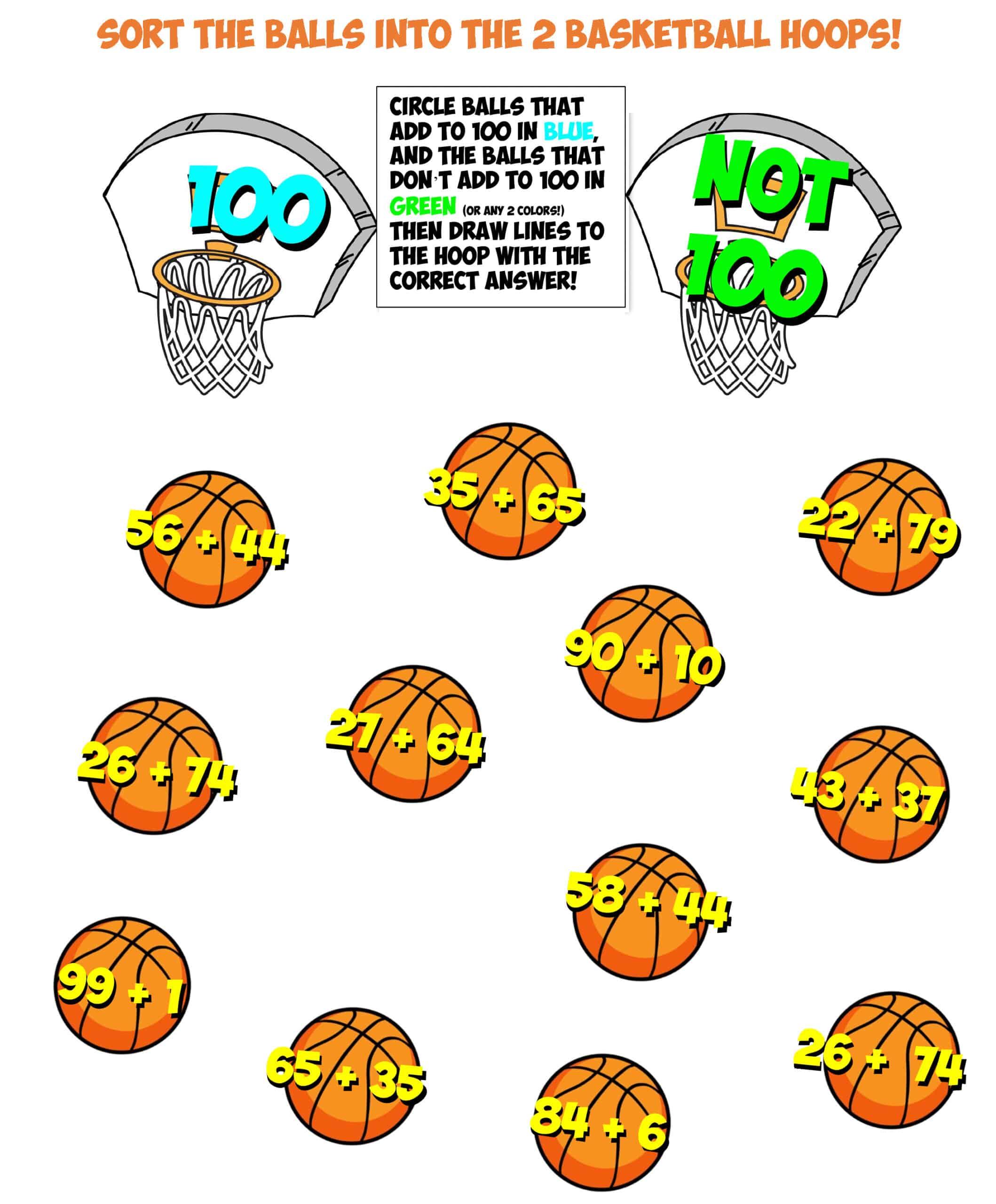 Basketball Sorting 8