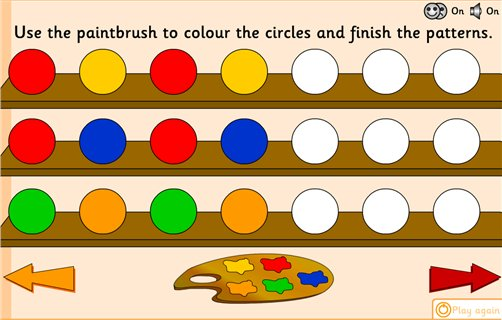 Number Names Worksheets simple patterns worksheets : Patterns and Sequences Archives - Maths Zone Cool Learning Games